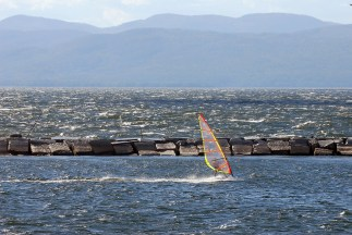 Lake Champlain offers quite a bit to do, including swimming, sailing, jet skiing, and more!