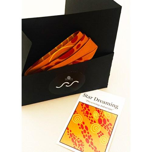 Sunzi Star Dreaming Orange Kerchief