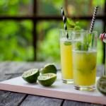 Kesädrinkki – ananas agua fresca