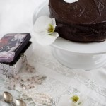 Tukevasti sokerihumalassa – suklaakakku