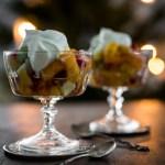 Jouluhaikeus – talvinen hedelmäsalaatti