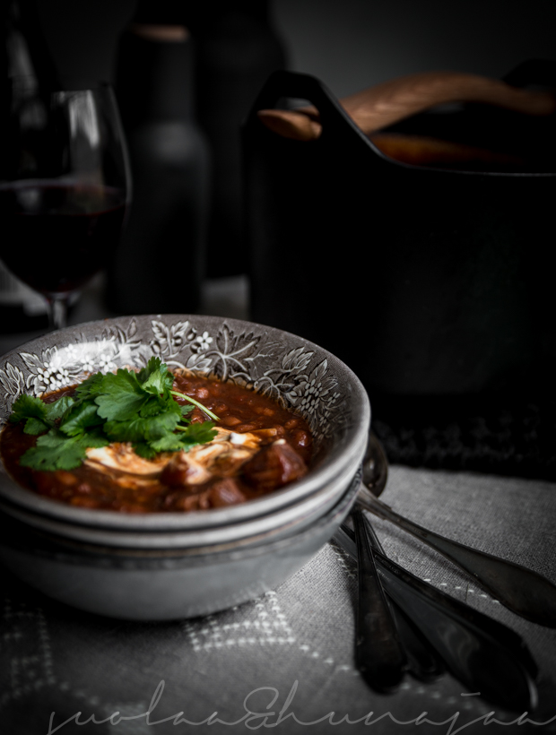 hyvä pata chili con carne