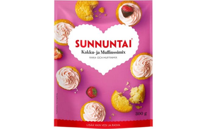 Sunnuntai Cake and Muffin mix 300g