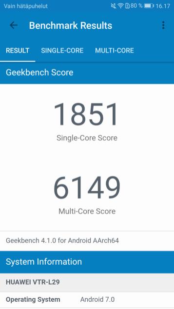 Geekbench4