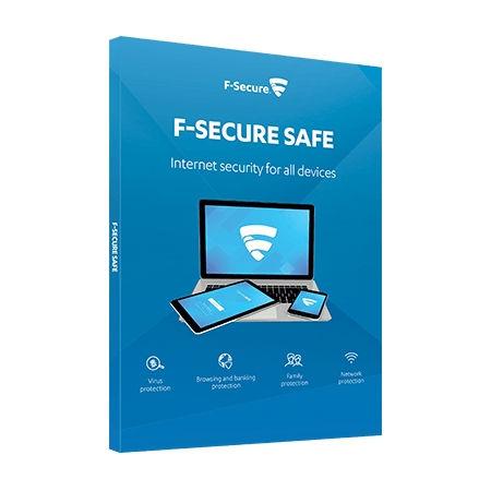 F-SECURE SAFE Internet Security- 3 Laitetta 2 Vuotta (ESD)