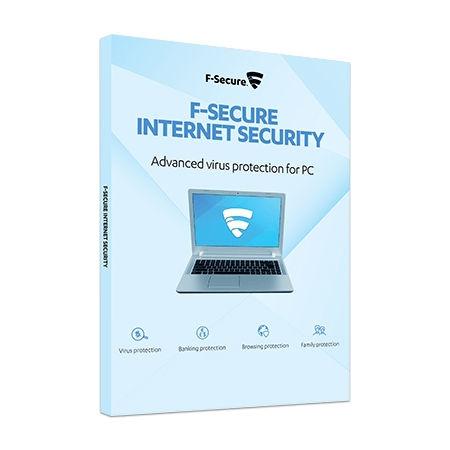 F-SECURE Internet Security – 3 Laitetta 1 Vuosi (ESD)