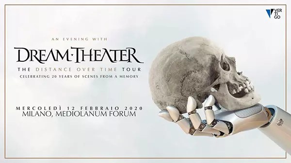 Dream Theater in concerto per due date italiane