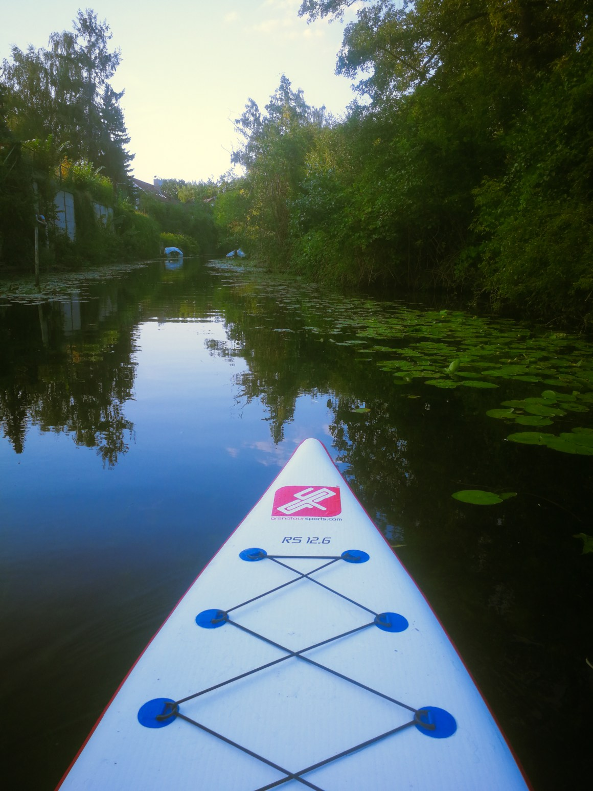SUP in little Venice