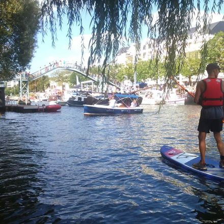 Stand Up paddle Erdre