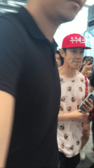 160829 Heechul at Guanzhou Airport 1