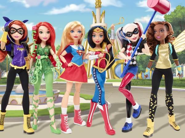#Concours : Tendance Girl Power et les DC Super Hero Girls !