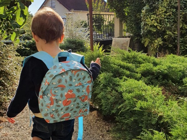 En route vers la maternelle !