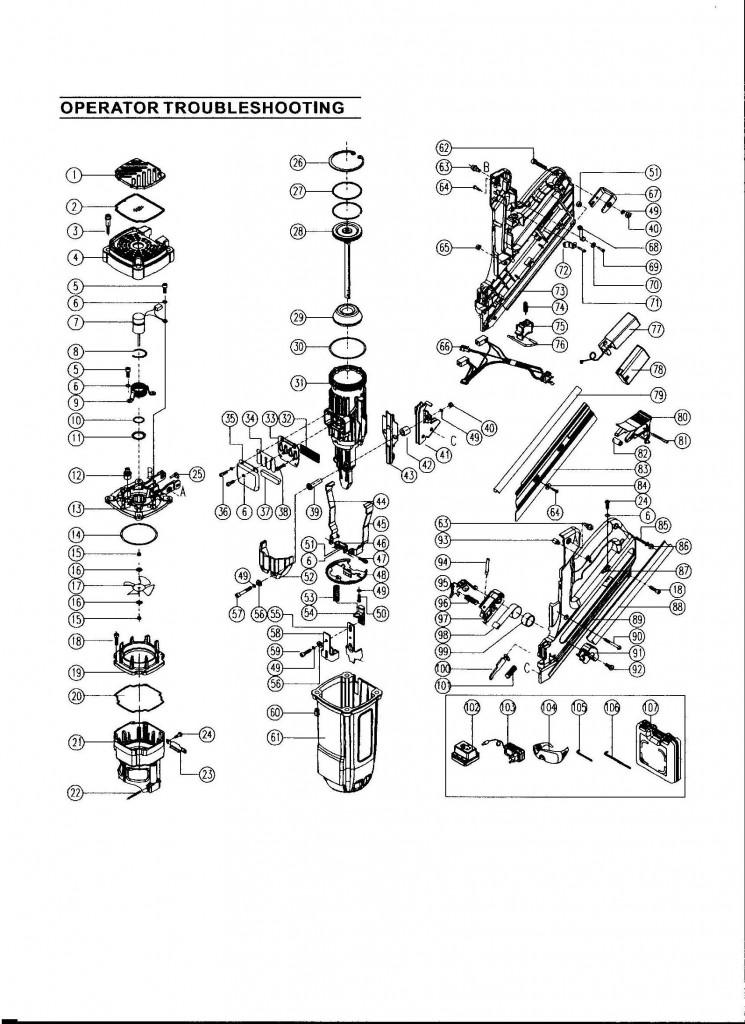 Ql90 Spare Parts