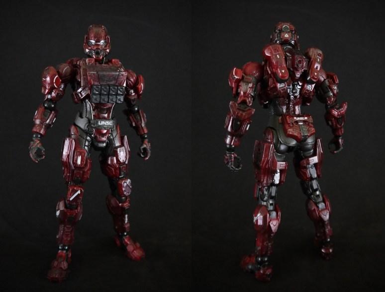 Spartan Warrior Red