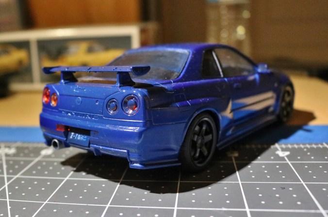 Aoshima Top Secret Nissan Skyline Gt R R34 Supar Robo