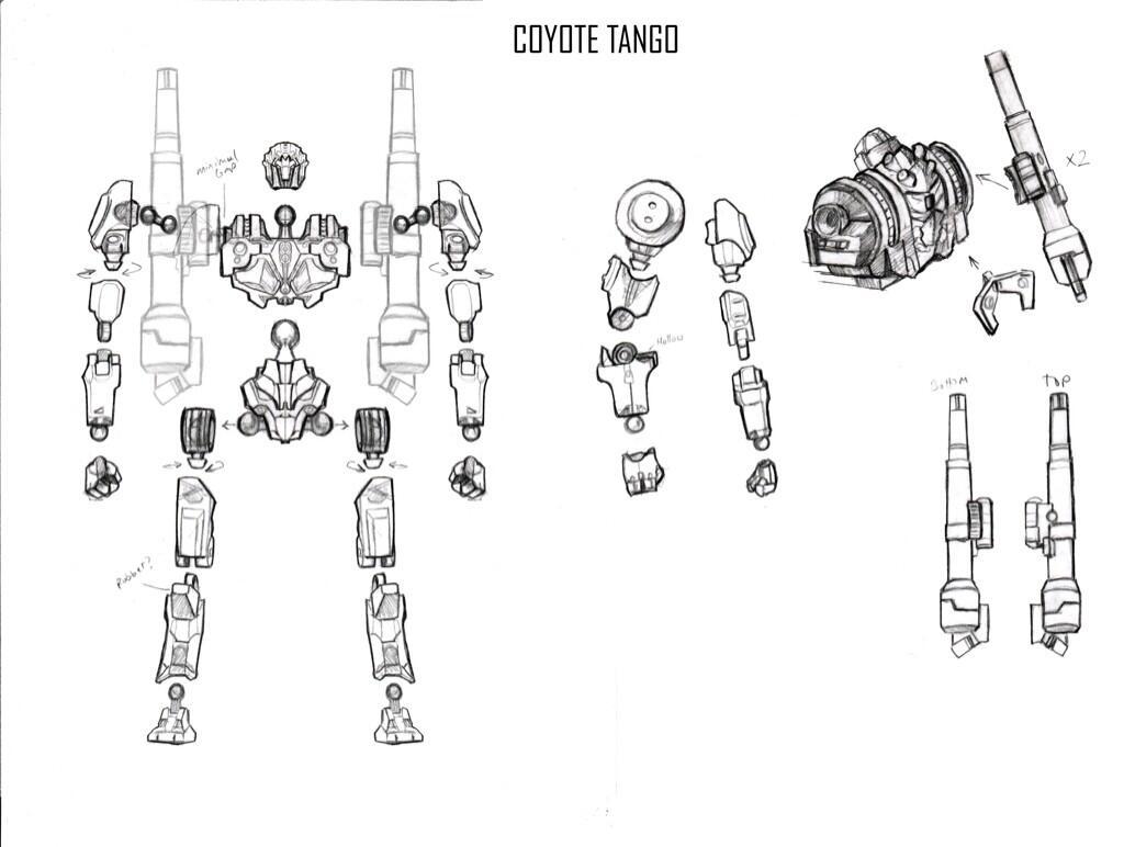 Neca 7 Coyote Tango