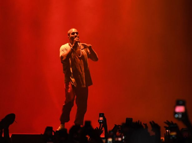 Kanye West was performing at The Meadows Festival in New York City when he found out about the robbery