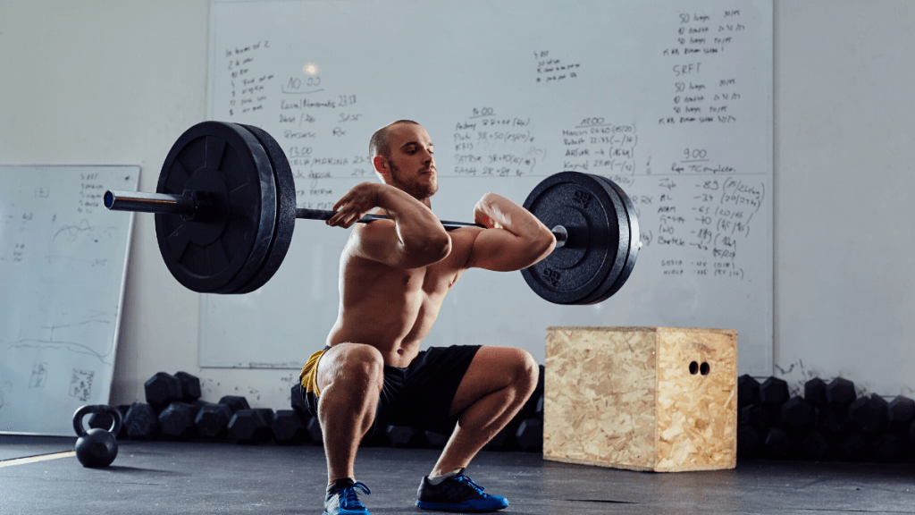 front squat metabolic stress