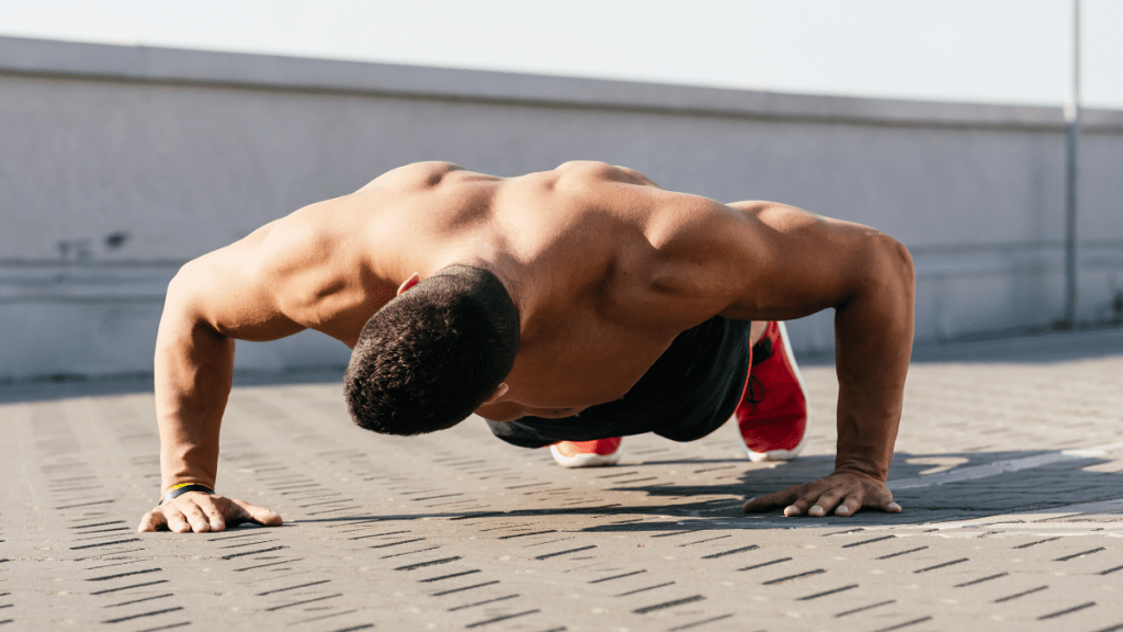 tempo push ups to build muscle at home