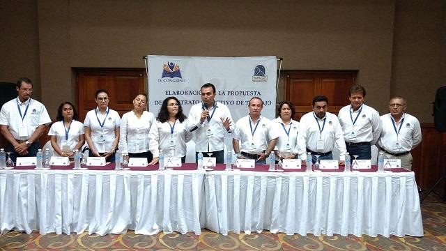 IV Congreso de Elaboración de la Propuesta del Contrato Colectivo de Trabajo