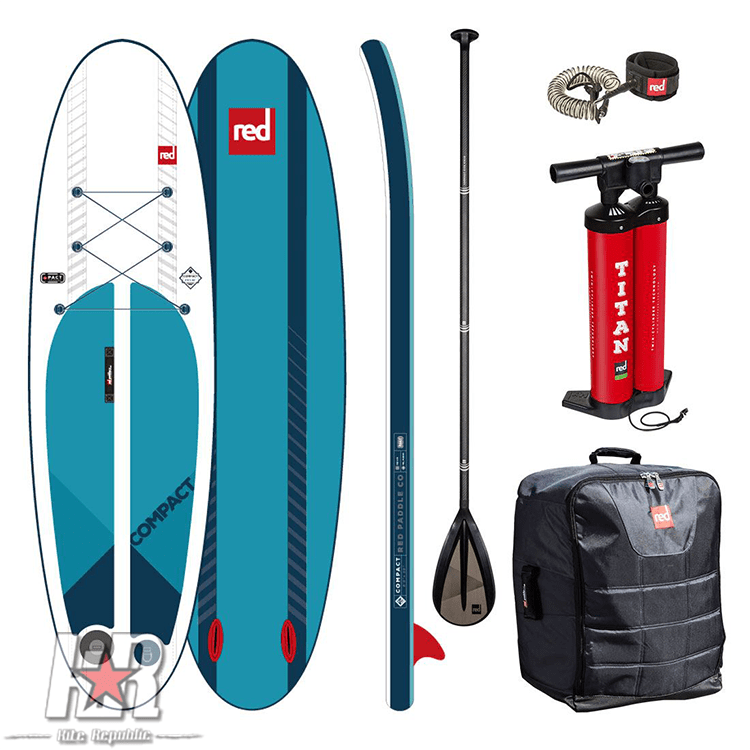 paddle boarding compact package
