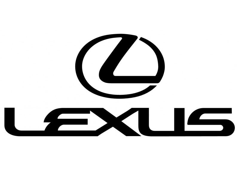 Lexus Center Cap Decals