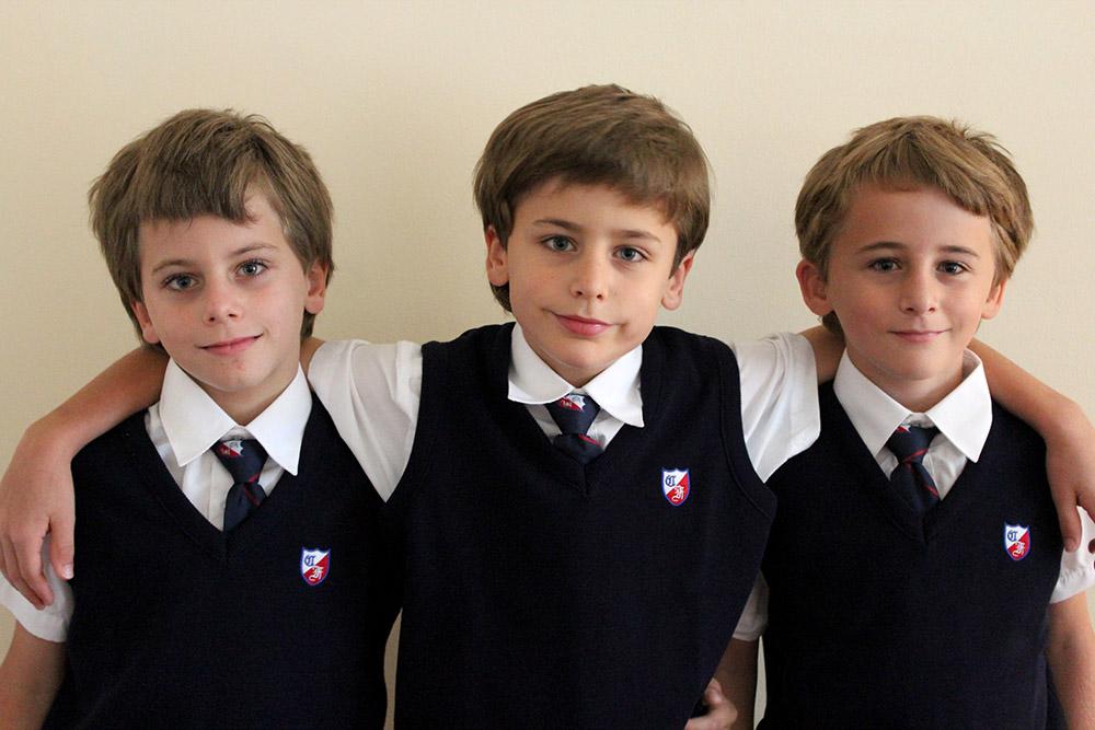 des triplets qui mangent santé