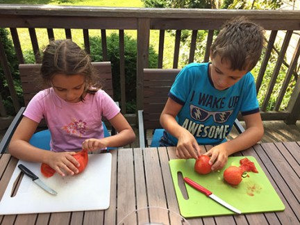 comment éplucher des tomates facilement