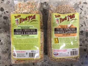 graines de couscous tricolores ou au ble entier