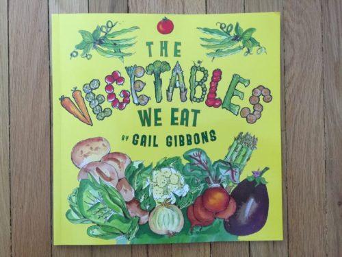 Livre The vegetables we eat pour Super Boîte à Lunch