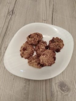 Les cookies de Laetitia pour Super Boîte à Lunch