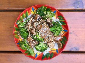 Brocolis au boeuf & shiitake de Super boîte à lunch