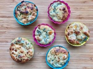 Les muffins aux légumes de Super Boîte à Lunch