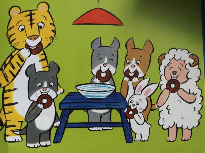Livre le cache cache des animaux pour Super Boîte à Lunch