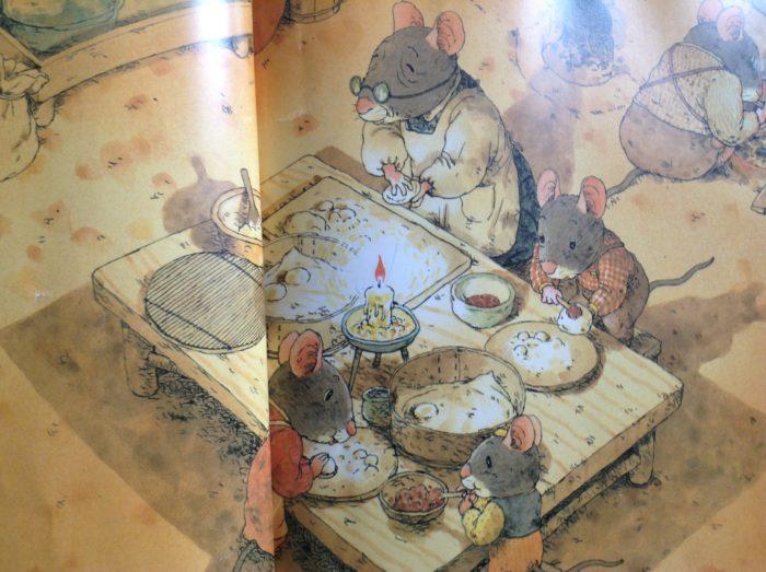 Le livre L'hiver de la famille pour Super Boîte à Lunch