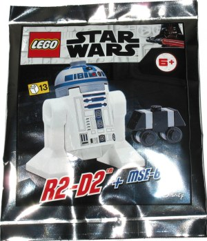 R2-D2 + MSE-6 - Polybag Lego Star Wars 912057
