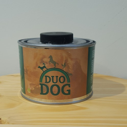 Duodog en zalmolie