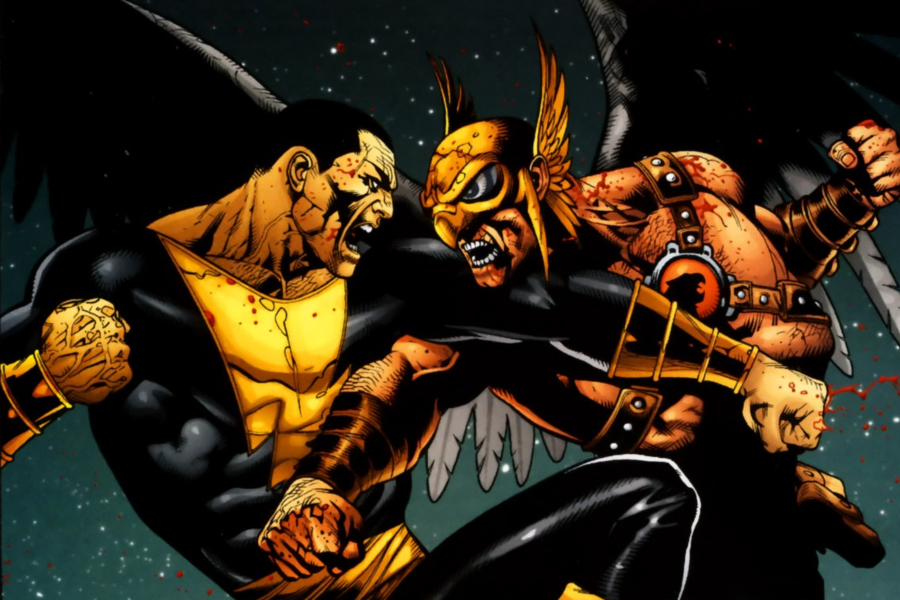 Black Adam V Hawkman