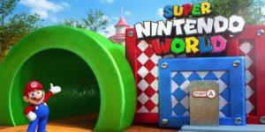 Imagen promocional del parque Super Nintendo World