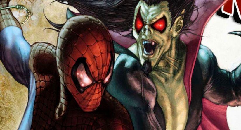 Spiderman en Morbius