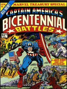 batallas del bicentenario jack kirby capitan america falcon