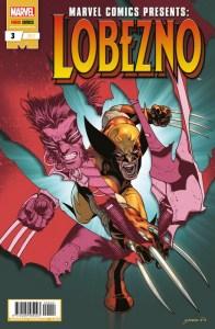 portada marvel comics presents lobezno 3