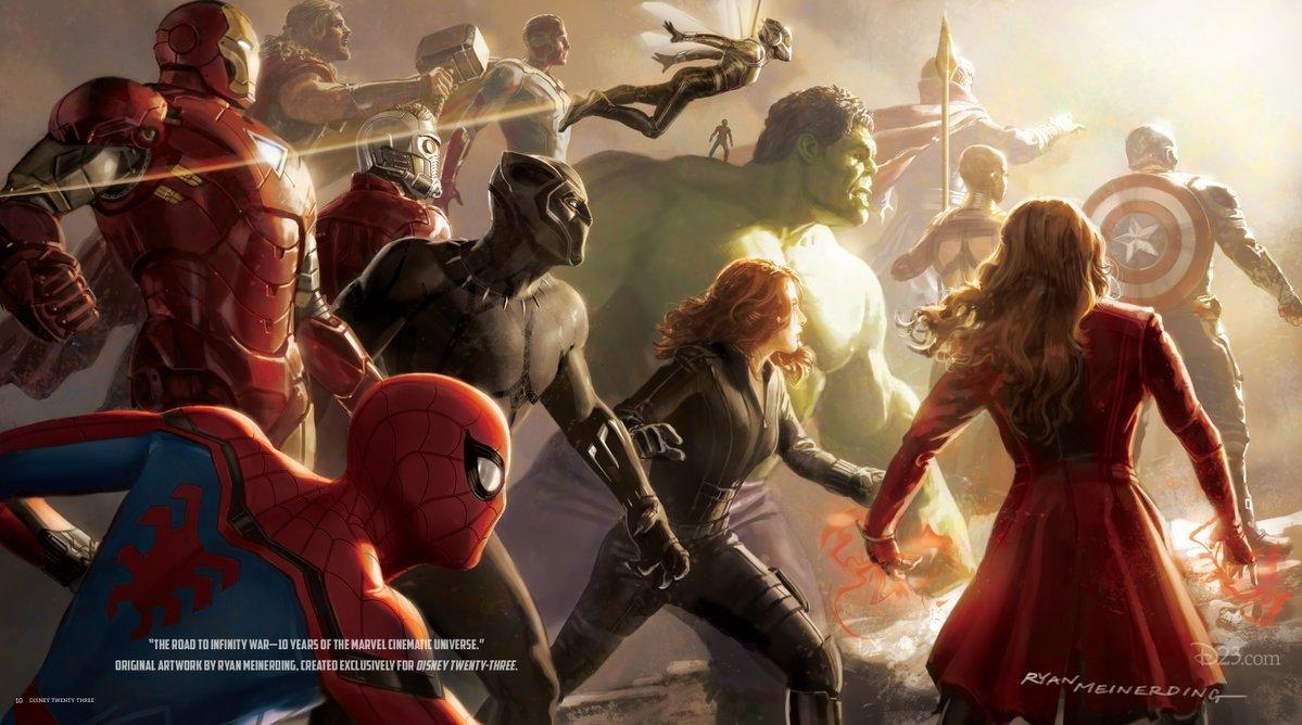 Test Marvel Studios: Nivel medio