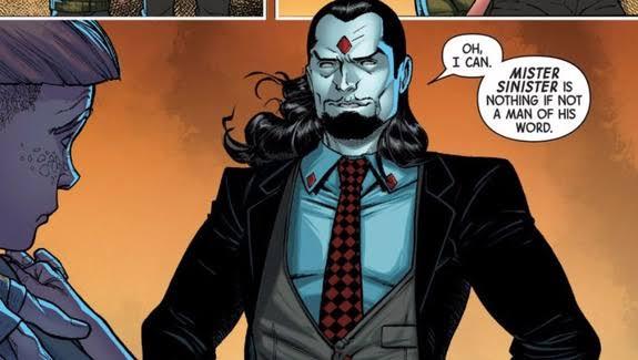 ¿Quien-es-Mister-Sinister?