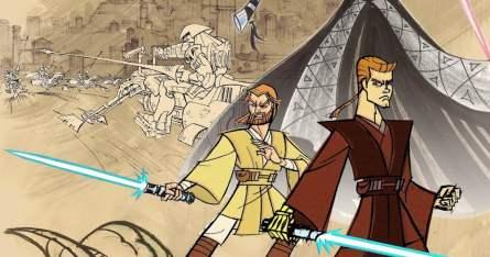 Clone Wars de 2003 póster