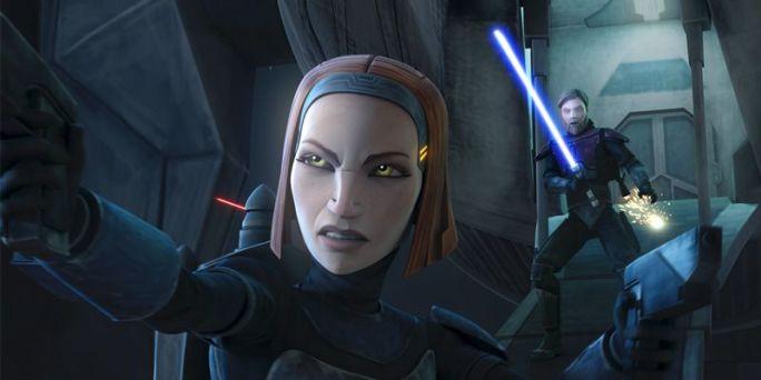 Bo-Katan en The Clone Wars