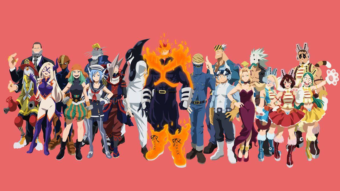Top 10 Pro Héroes De My Hero Academia Super Ficcion Com