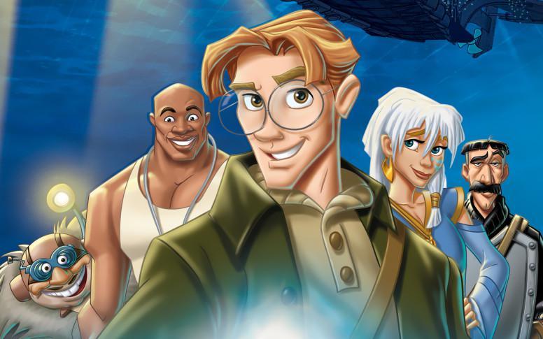 Atlantis: El Imperio Perdido Live-Action