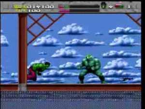 Hulk versus Abomination