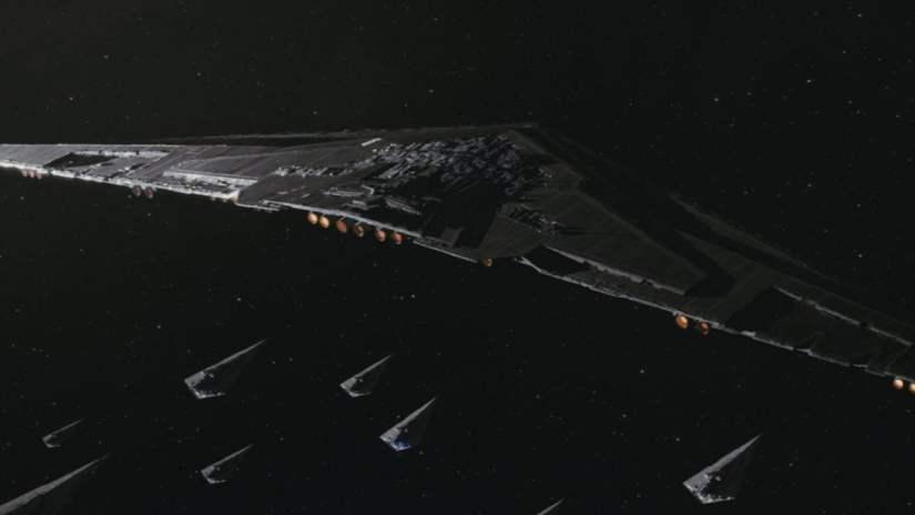 Supremacía primera orden Star Wars